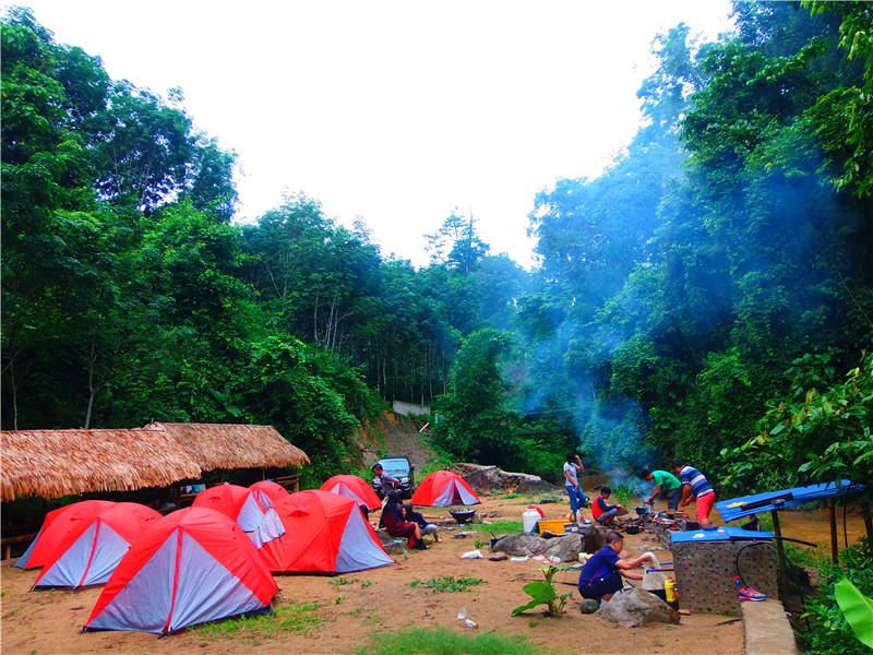 西双版纳热带雨林穿越体验民族风情---8天7晚