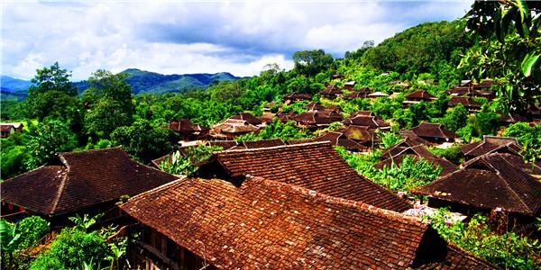 老班章、老曼鹅、班盆、贺开古茶山、村落、民俗休闲体验观光之旅